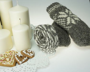 Ecological hand knitted SOCKS 100% sheep wool very warm hand made Good gift!